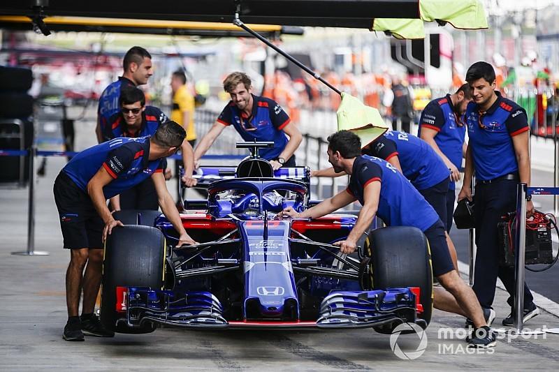 Toro Rosso pair set for penalties as Honda brings upgrade