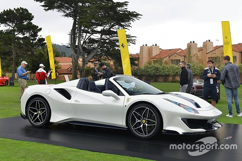 Ferrari 488 Pista Spider дебютувала в США