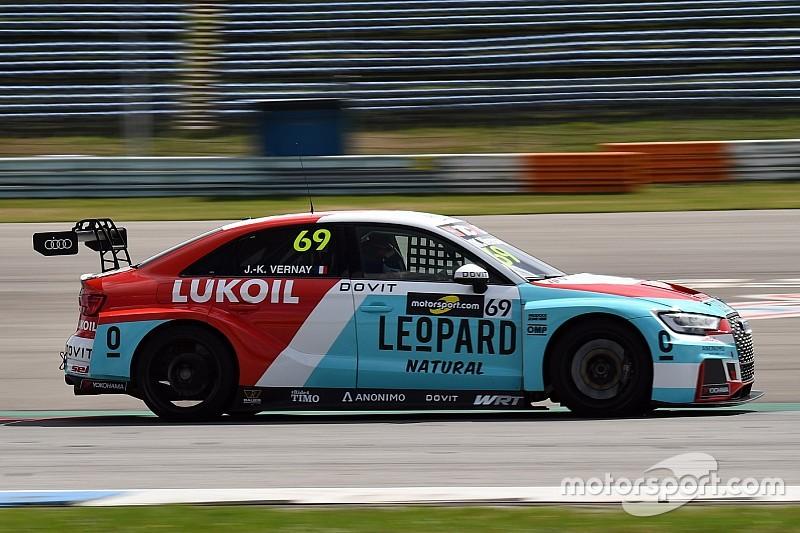 Jean-Karl Vernay agguanta la pole position di Gara 1 ad Assen grazie alla penalità di Files