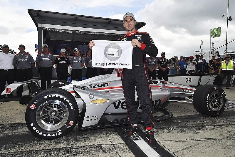 Power iguala las 53 poles de Foyt en IndyCar