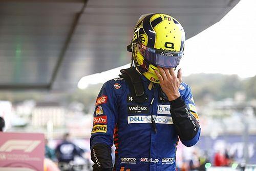 F1: Norris leva apenas uma reprimenda por escapada na entrada dos boxes e mantém 7º lugar