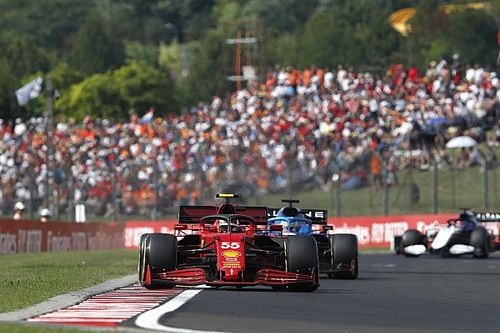 A Ferrari örül, hogy Sainz megkérdőjelezte a stratégiai döntésüket a Magyar Nagydíjon