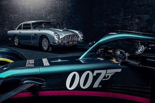 """Aston Martin aura une livrée """"James Bond"""" au GP d'Italie"""