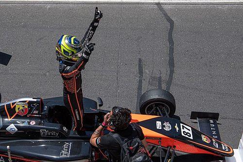 F4: Bearman imbattibile. Sua anche gara 3 a Vallelunga