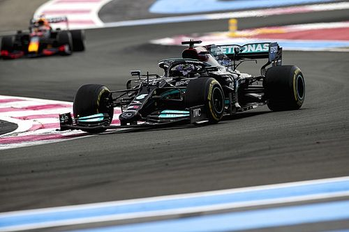 """Hamilton says sticking to one-stop strategy was his """"only option"""""""