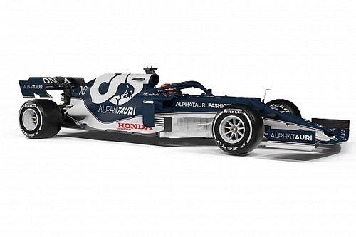 AlphaTauri launches 2021 Formula 1 car