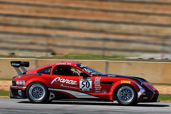 PWC Panoz Avezzano completes first test