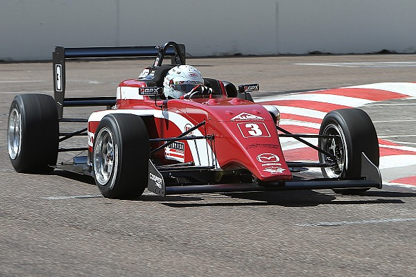 USF2000 Barber USF2000: Askew takes pole for Race 1