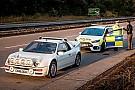 La Focus RS de la police anglaise défie la Ford RS200