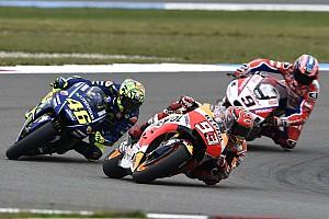 Márquez sobre Rossi: