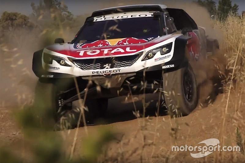 Peugeot présente la 3008DKR Maxi pour le prochain Dakar