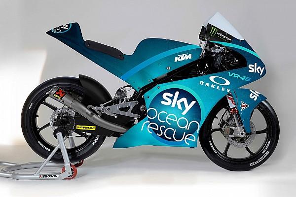 Moto2 Breaking news Kampanye menjaga laut pada livery spesial Sky VR46