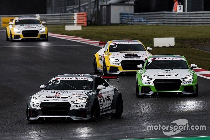 Audi TT Cup: Melandri vs. Keszthelyi baleset vasárnap