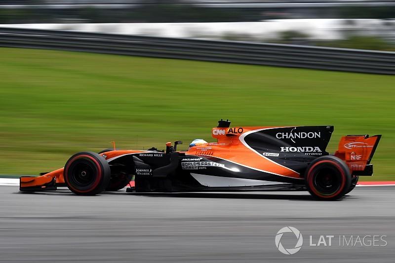 A McLaren új aerodinamikai csomagja úgy teljesít, ahogy várták