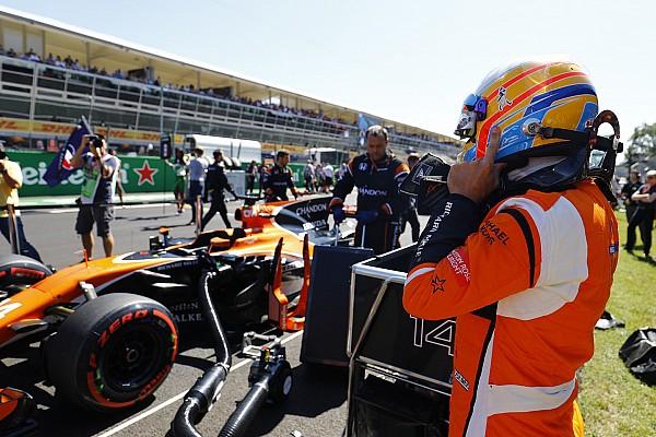 Alonso da la bienvenida a un final de año positivo para McLaren