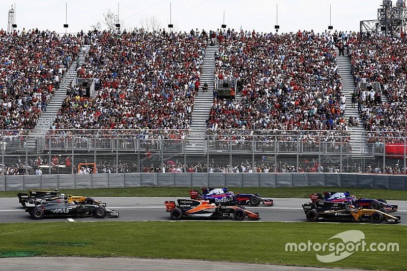"""Grosjean dijo que el movimiento de Sainz fue """"peligroso"""""""
