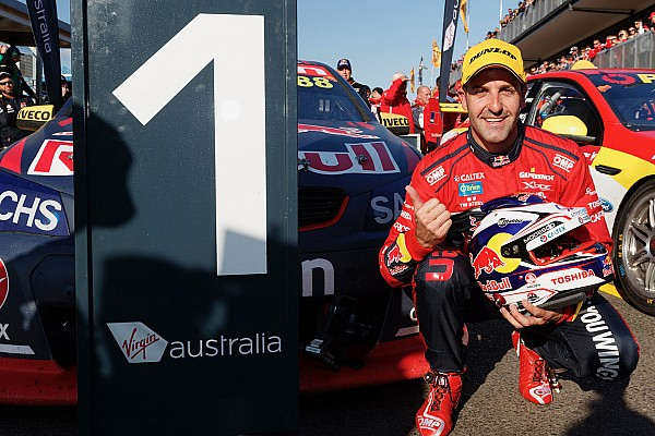 Supercars Breaking news Record Supercars winner Whincup 'not out to tick boxes'