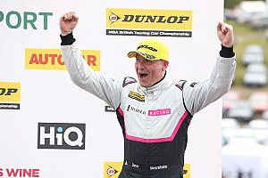 BTCC Breaking news Newsham announces retirement from BTCC