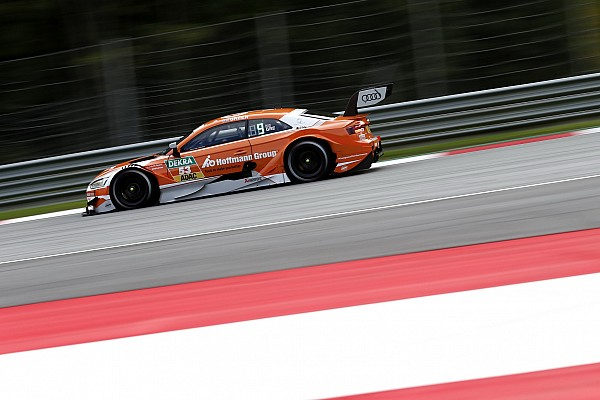 DTM Verslag vrije training DTM Red Bull Ring: Green snelste in uitgestelde training