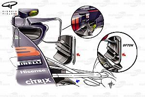 Formel 1 Analyse Formel-1-Technik: Updates am Red Bull RB13 in Singapur