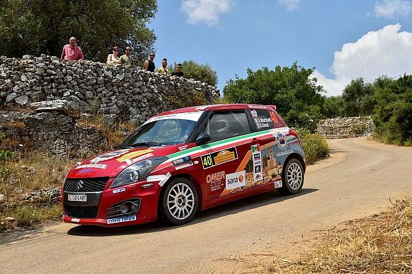 Rally Gara Suzuki Rally Trophy: al Salento Martinelli e Coppe si dividono la scena