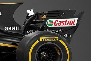 F1 technika: szabályos lett a Renault hátsó szárnya?