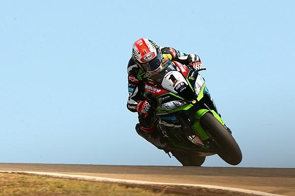 Superbike-WM Rennbericht WorldSBK in Portimao: Rea dominiert Rennen 1, Bradl stürzt