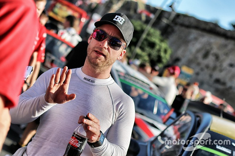 Mads Østberg con la sua Fiesta R5 al Rally Rzeszow