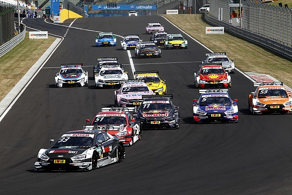 DTM Breaking news Rast proved he is future DTM title candidate - Audi
