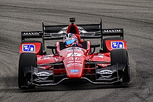 IndyCar Practice report Mid-Ohio IndyCar: Rahal fastest as Pigot crashes in warmup