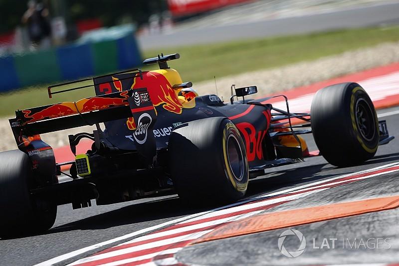 Formel 1 2017 in Budapest: Ricciardo und Red Bull am Freitag vorn