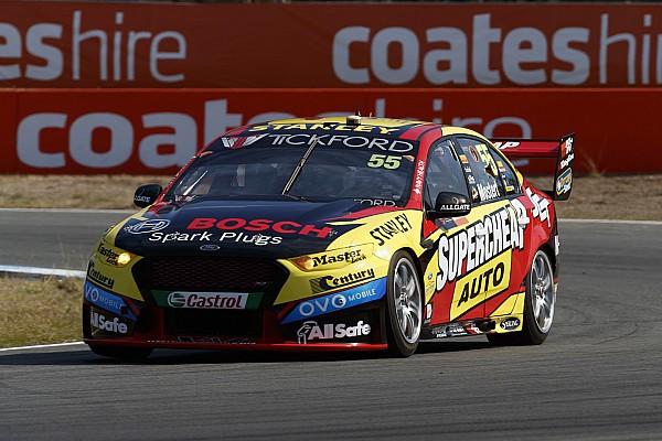Ipswich Supercars: Mostert holds on for Sunday win