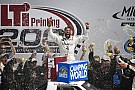NASCAR Truck Darrell Wallace Jr. takes spectacular win in Michigan Truck race