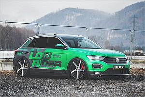 Automotive News VW T-Roc Tuning mit Luftfahrwerk und Dotz-Felgen