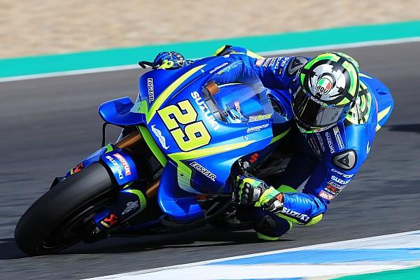 Iannone tops opening day of Jerez MotoGP test