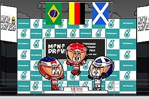 Fórmula 1 Artículo especial Vídeo: el caótico y lluvioso GP de Malasia 2001 según MiniDrivers