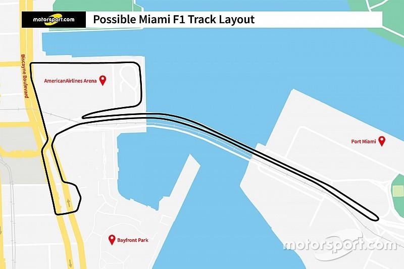 Miami revela proposta de layout do circuito para GP da F1