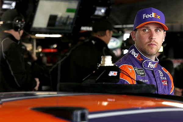NASCAR Cup Breaking news Denny Hamlin wins Short Track Showdown at Langley Speedway
