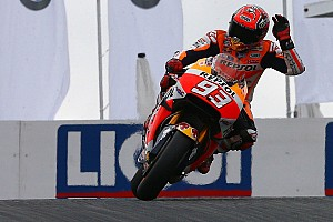 MotoGP Qualifying report Sachsenring MotoGP: Marquez on pole, Lorenzo crashes twice