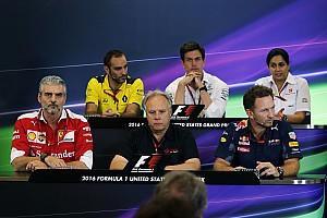 Formula 1 Press conference US GP: Friday's press conference