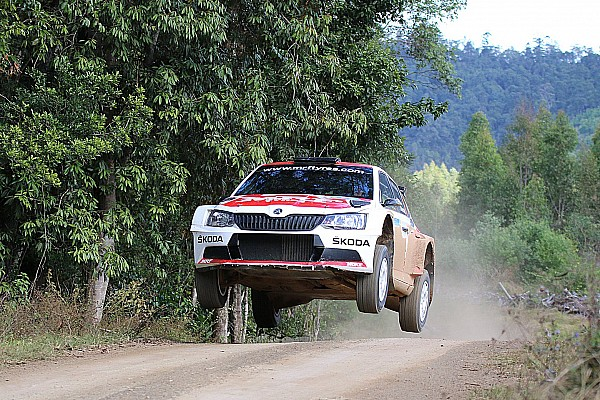 Other rally Australia APRC: Gill takes clean sweep of Day 1 stage wins
