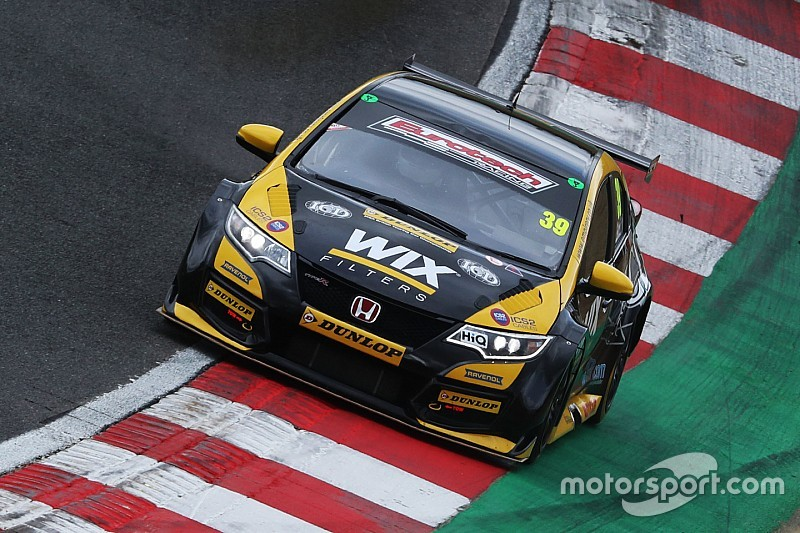 Brands Hatch BTCC: Smith on pole as title contenders struggle