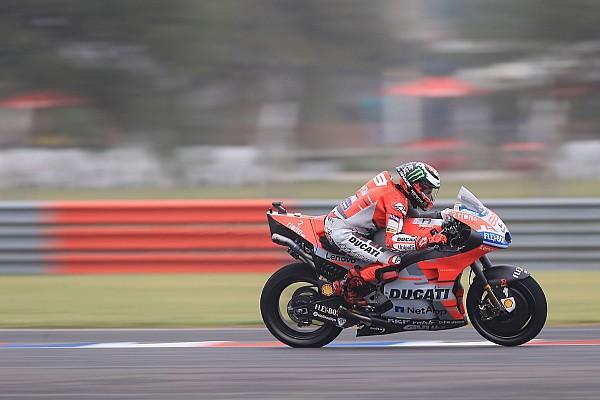 Lorenzo quer novo pacote aerodinâmico da Ducati nos EUA
