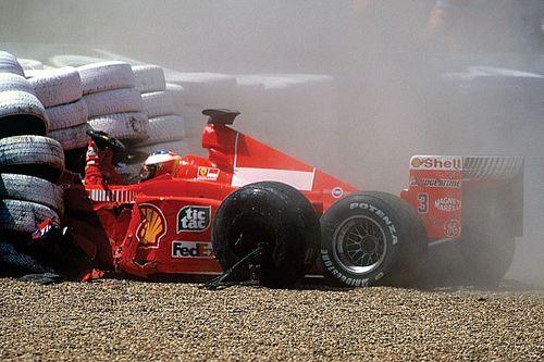 """Oude herinneringen: """"Oooh! Schumacher gaat er hard af!"""""""