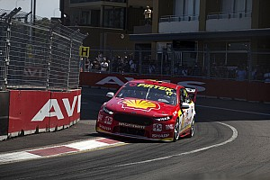 Supercars Race report Newcastle Supercars: McLaughlin wins Race 1, disaster for Whincup