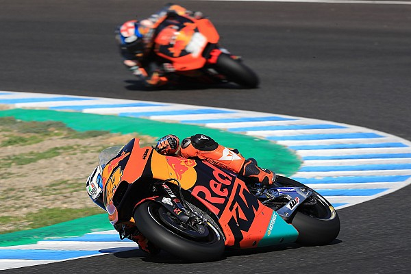 MotoGP Améliorer le grip arrière, un préalable au développement 2018 pour KTM