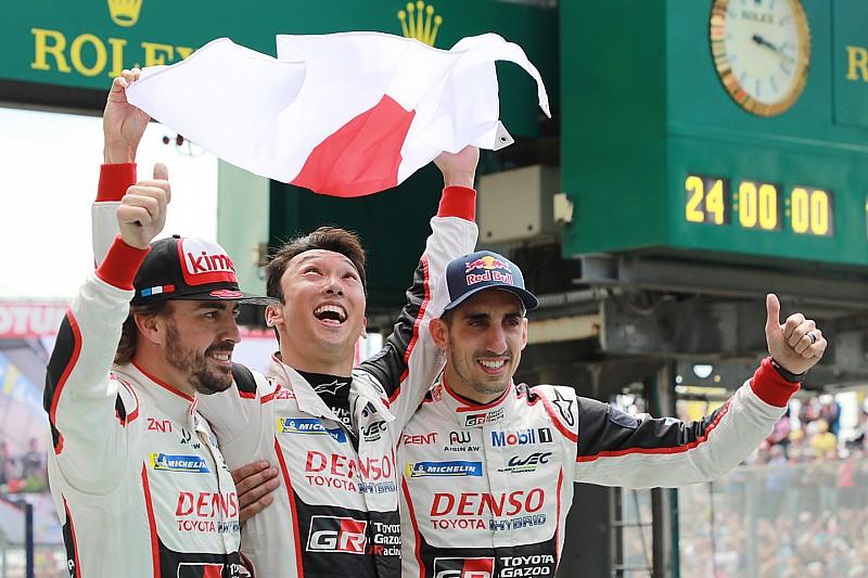 Alonso y Toyota ganan las 24 Horas de Le Mans