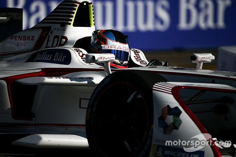 Dragon hält in der Formel E an Jose Maria Lopez fest