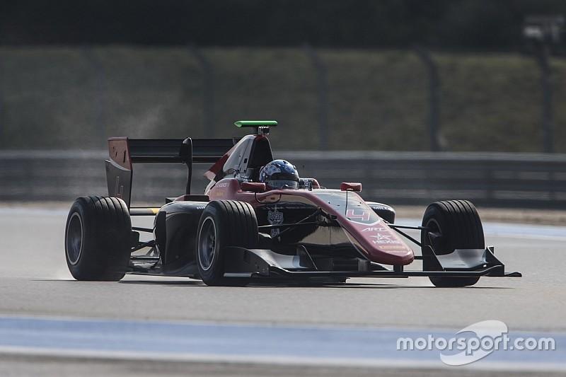 Paul Ricard GP3 testi: İlk günde Hughes lider
