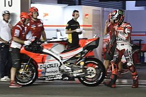 MotoGP Réactions Lorenzo victime de problèmes électroniques samedi